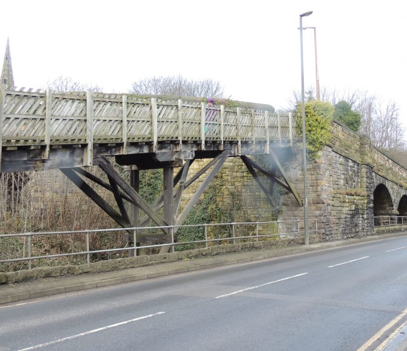 New Plans for Dronfield's Timber Ramp Footbridge