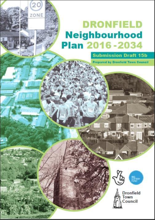 Dronfield Neighbourhood Plan Consultation until April 12th 2019